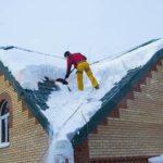 уборка крыши в частном доме
