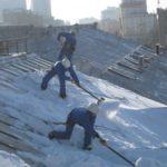 уборка снега в многоквартирных домах
