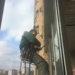 как установить отлив на балконе?