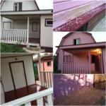 Покраска   дома в Наро-Фоминске с 90% удалением старого покрытия