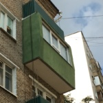 окраска балкона термо краской