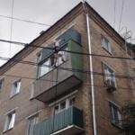 покраска балкона снаружи +герметизация
