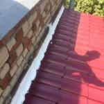 Монтаж металлочерепицы на балконе