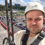 Промышленный альпинист в Румянцево