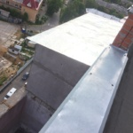 новая крыша на балконе