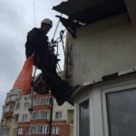 герметизация балкона на последнем этаже