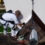 герметизация   примыкания дымовой трубы