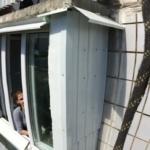 обшивка   балкона профлистом снаружи