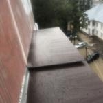 замена крыши на последнем этаже